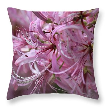 My Heart Is Pink Throw Pillow