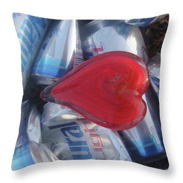 My Hearts Drunk With Love Throw Pillow