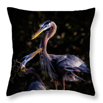 My Hero Throw Pillow