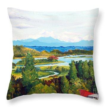 My Homeland Throw Pillow