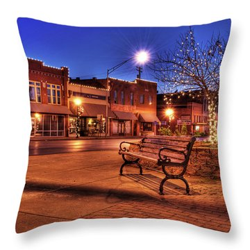 My Hometown Throw Pillow by Tamyra Ayles