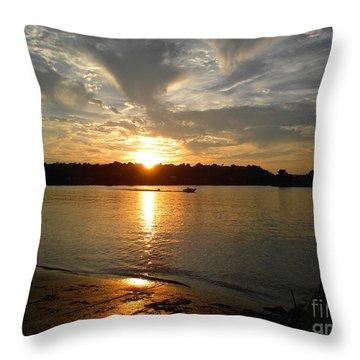 My Hometown Williamstown West Virginia Throw Pillow
