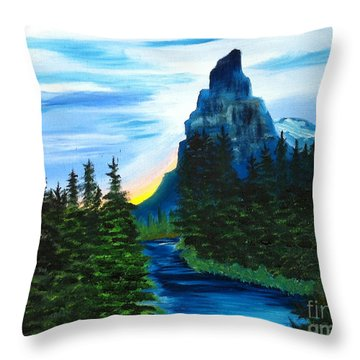 My Imagination Only Throw Pillow