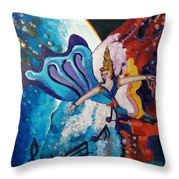 My Inspirational Goddess Throw Pillow