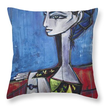 My Jacqueline Throw Pillow