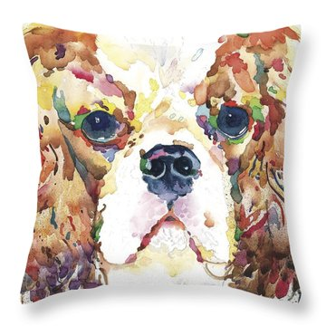 My King Charles Throw Pillow