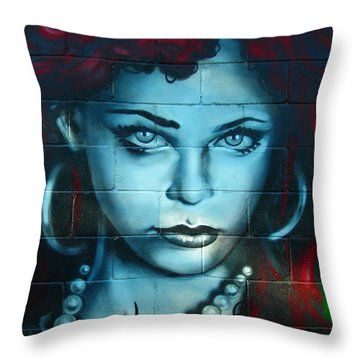 My Lady ... Throw Pillow by Juergen Weiss