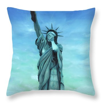 My Lady Throw Pillow by Kd Neeley