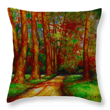 My Land Throw Pillow