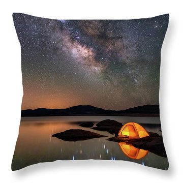 My Million Star Hotel Throw Pillow