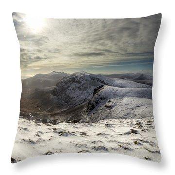 My Mountain Kitchen Throw Pillow