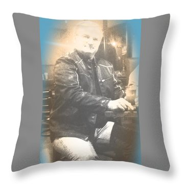 My Muscle Man Throw Pillow