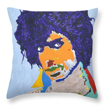 My Name Is Prince  Throw Pillow