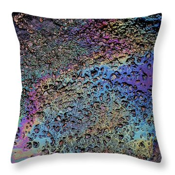 My Obsession With Asphalt IIi Throw Pillow by Anna Villarreal Garbis