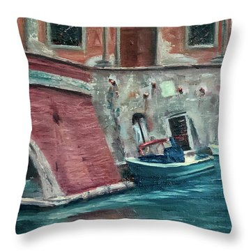 My Other Car Throw Pillow