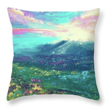My Own Planet Throw Pillow