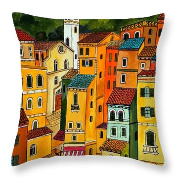 My Portofino Throw Pillow