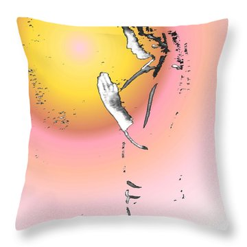 My Prayer To You Throw Pillow