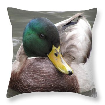 My Right Side Is My Best Side Throw Pillow