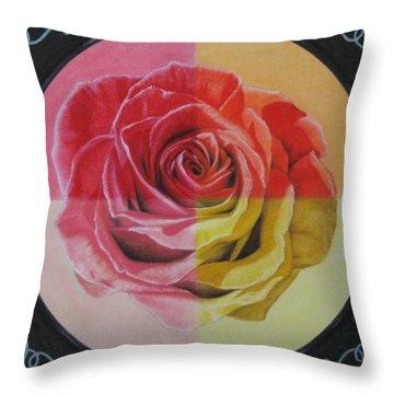My Rose Throw Pillow
