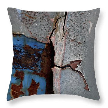 My Rust Your Trust  Throw Pillow