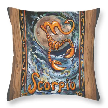 My Scorpio Throw Pillow
