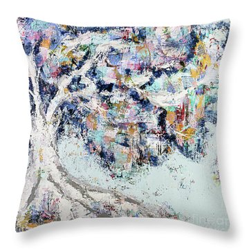 My Secret Hideout Throw Pillow by Kirsten Reed