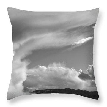 My Sky View #4bw Throw Pillow