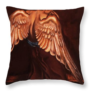 My Soul Seeks For What My Heart Lost Throw Pillow