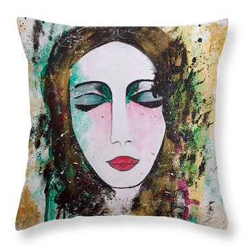 My Soul The Way Of The Clouds Throw Pillow