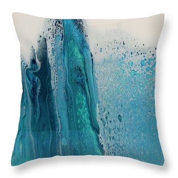 My Soul To Sea Throw Pillow