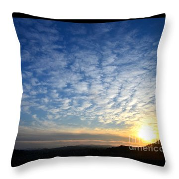A Lonely Place To Pray Throw Pillow