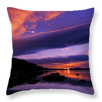 My Tahoe Throw Pillow