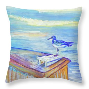 My Tern 3 Throw Pillow