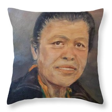 My Thai Throw Pillow