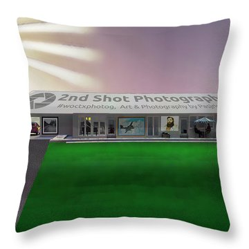 My Vision My Home Throw Pillow