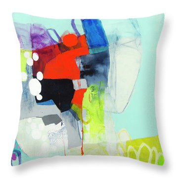 My Voice Is Strong Throw Pillow