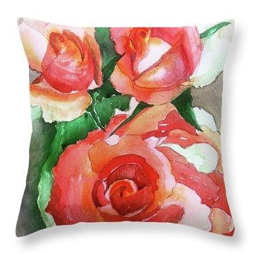 My Wild Irish Rose Throw Pillow