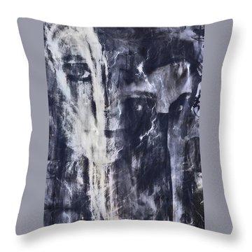 Throw Pillow featuring the photograph Mykur by Linda Sannuti