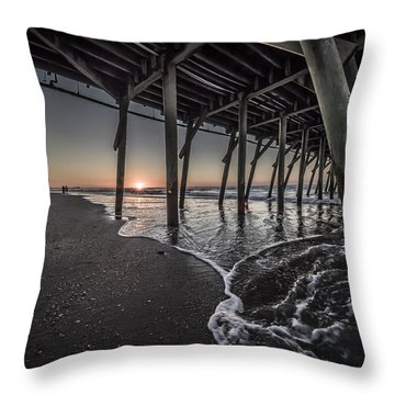 Myrtle Beach Sunrise I Throw Pillow