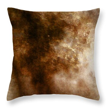 Mysterious Throw Pillow by James Barnes