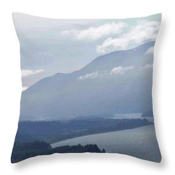 Mysterious Throw Pillow