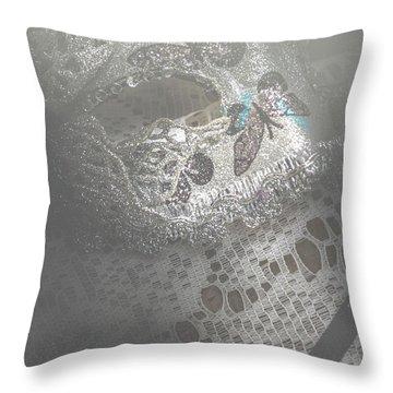 Mysterious Pantomime Play  Throw Pillow