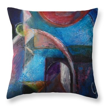 Mysterious Portal Throw Pillow