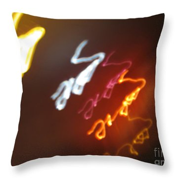 Throw Pillow featuring the photograph Mysterious Signature by Ausra Huntington nee Paulauskaite