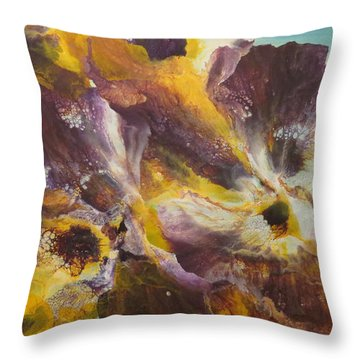 Mysterious Throw Pillow