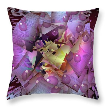 Mysterious Times By Nico Bielow Throw Pillow
