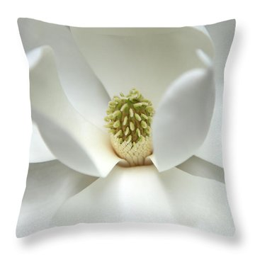 Mysteriously Throw Pillow