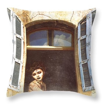 Throw Pillow featuring the photograph Mystery by Chris Armytage