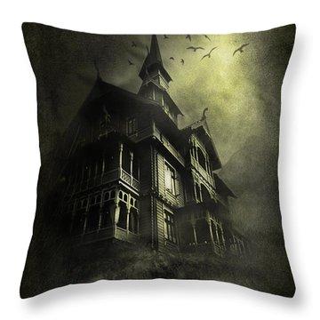 Mystery Light Throw Pillow